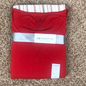3/30 Liz claiborne sleepwear set